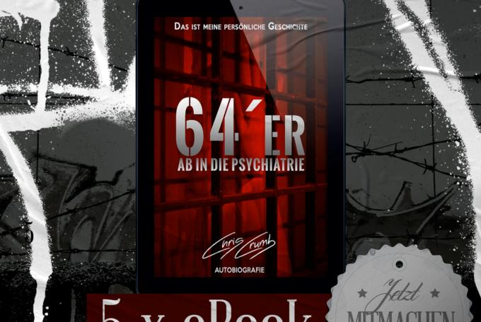 64er: Ab in die Psychiatrie – eBook Verlosung