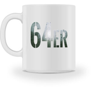 64er Logoprint Color - Tasse-3