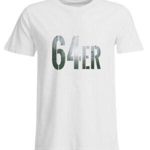 64er Logoprint Color - Übergrößenshirt-3