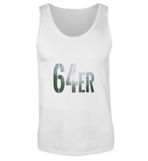 64er Logoprint Color - Herren Tanktop-3