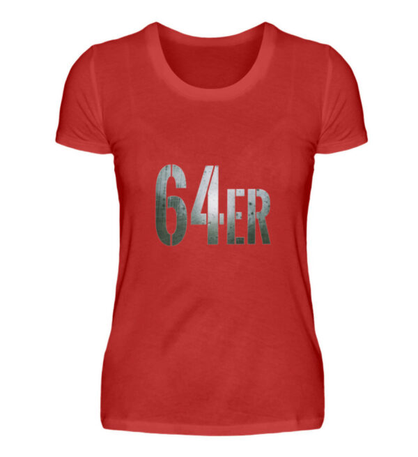 64er Logoprint Color - Damenshirt-4