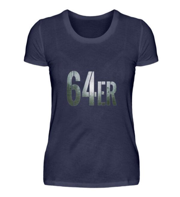 64er Logoprint Color - Damenshirt-198