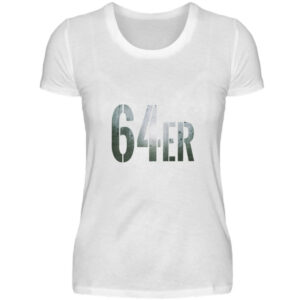 64er Logoprint Color - Damenshirt-3