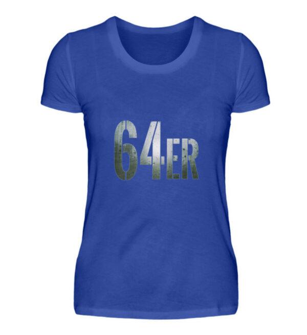 64er Logoprint Color - Damenshirt-2496