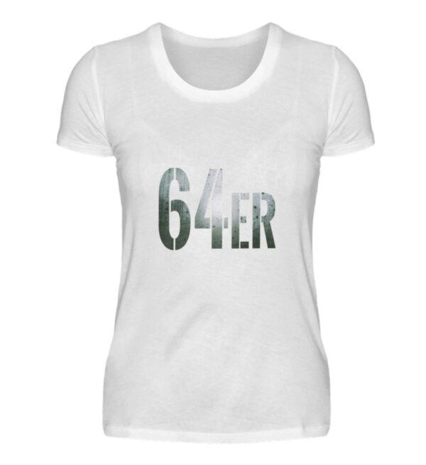 64er Logoprint Color - Damenshirt-3