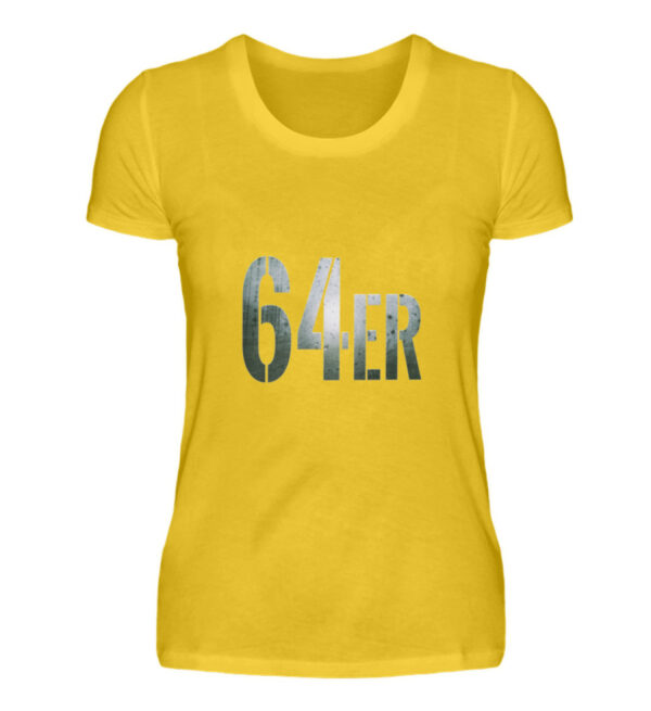 64er Logoprint Color - Damenshirt-3201