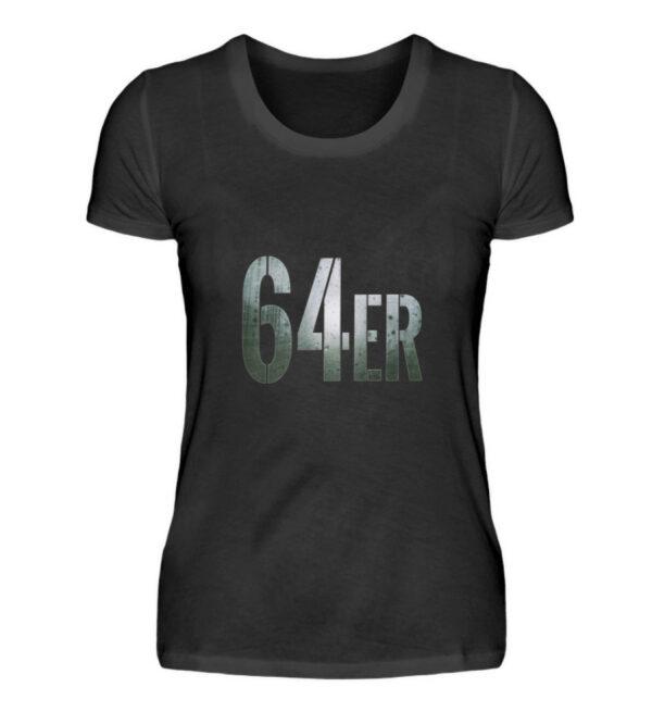 64er Logoprint Color - Damenshirt-16
