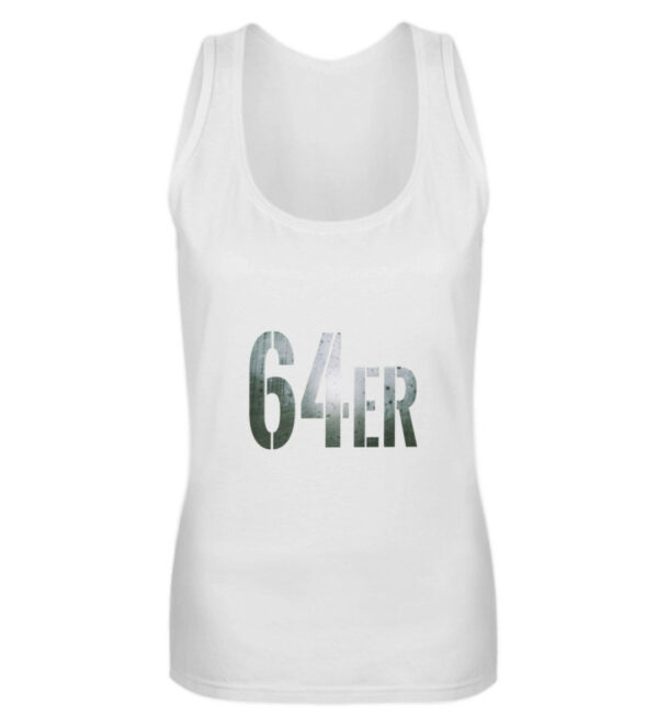 64er Logoprint Color - Frauen Tanktop-3
