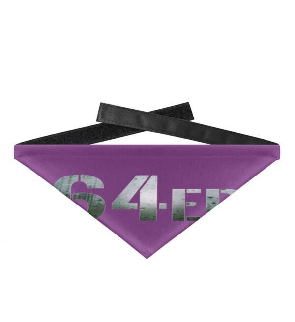 64er Logoprint Color - Hundehalstuch mit Klettverschluss-31