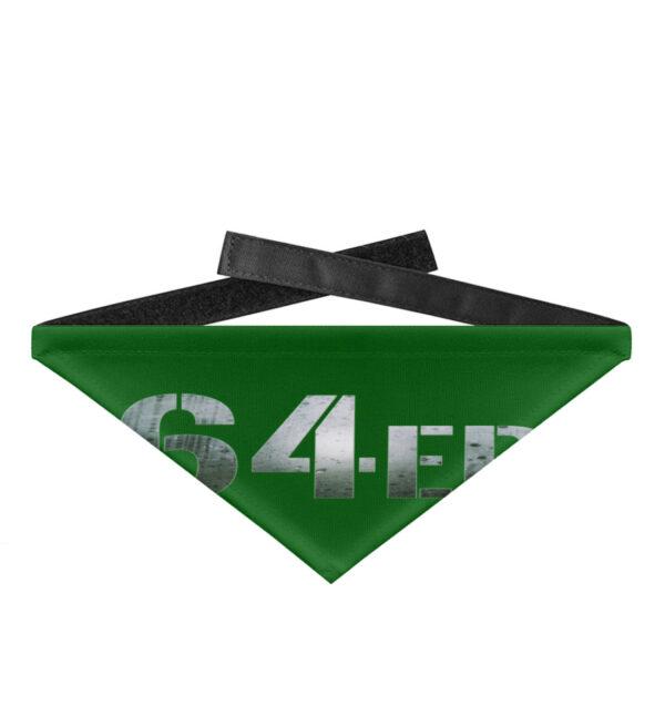 64er Logoprint Color - Hundehalstuch mit Klettverschluss-718