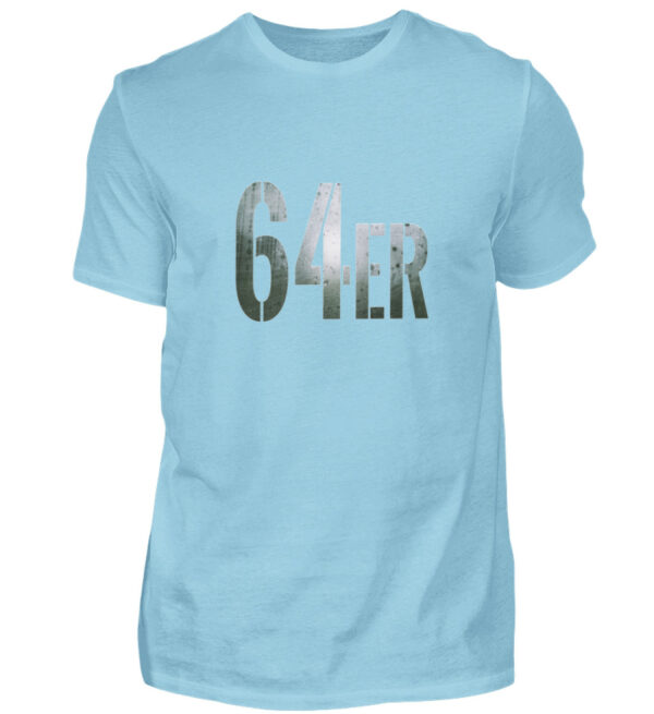 64er Logoprint Color - Herren Shirt-674