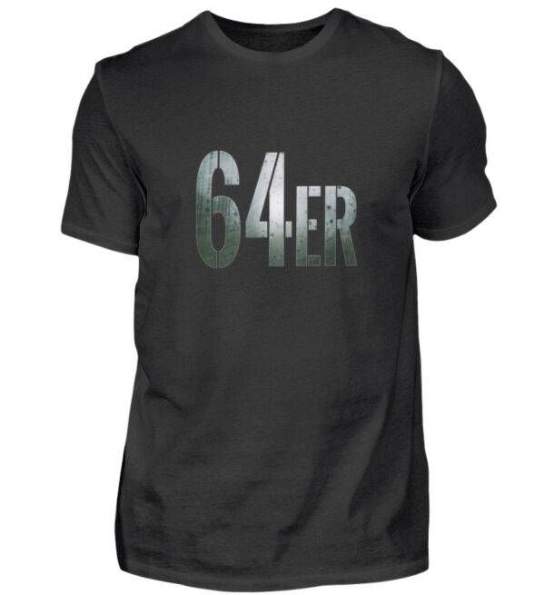 64er Logoprint Color - Herren Shirt-16