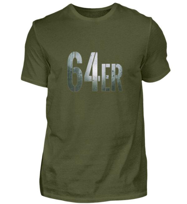 64er Logoprint Color - Herren Shirt-1109