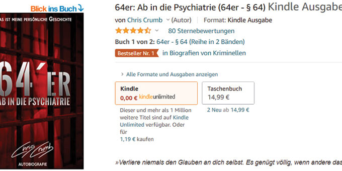 Amazon Bestseller Nr. 1